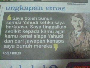 Kata-kata hikmat Adolf Hitler